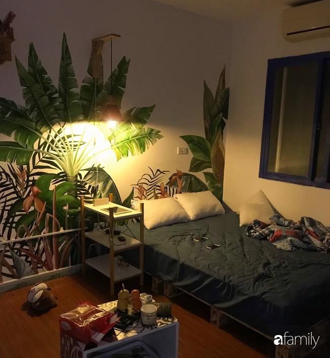 Chàng trai 9X biến căn hộ tập thể cho thuê rộng 30m2 thành tổ ấm đẹp như cổ tích với chi phí 10 triệu đồng ở Hà Nội - Ảnh 6.