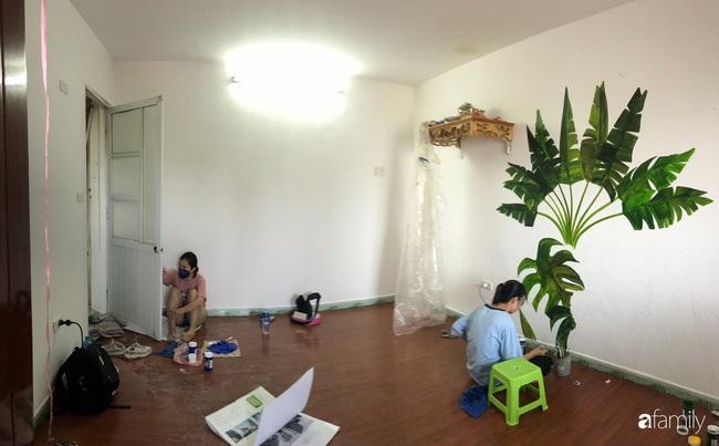 Chàng trai 9X biến căn hộ tập thể cho thuê rộng 30m2 thành tổ ấm đẹp như cổ tích với chi phí 10 triệu đồng ở Hà Nội - Ảnh 3.
