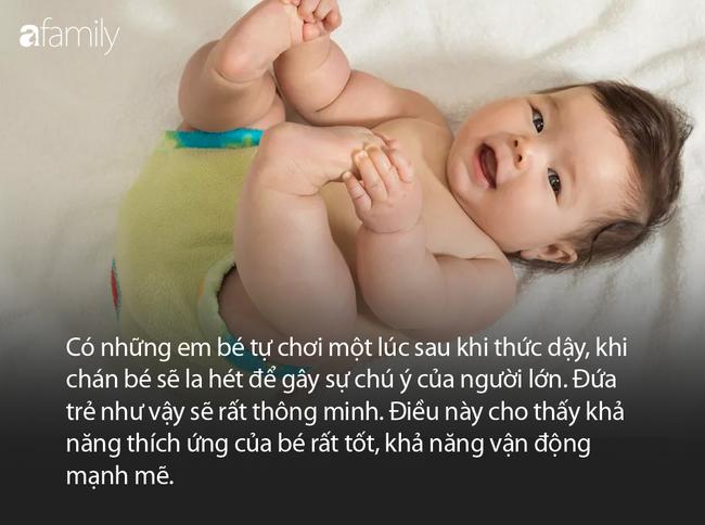 Trẻ mới sinh được 3 tháng, nếu có biểu hiện này chứng tỏ bé rất thông minh - Ảnh 4.