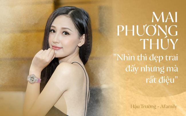 """Mai Phương Thúy tiết lộ về thời gian kết hôn, thành thật chia sẻ: """"Bạn trai em rất nữ tính, rất điệu"""" - Ảnh 1."""