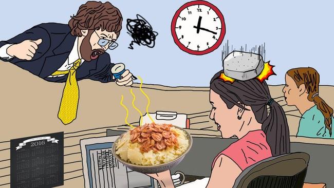 """Ăn xôi xéo mỡ hành nơi công sở chính là """"tội ác"""" mà chị em cần đặc biệt tránh xa! - Ảnh 2."""