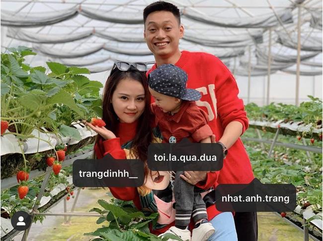 """Khoe ảnh check in ở tiệm bánh Cối Xay Gió trước và sau 2 năm, hot mom Trang Đinh bồi hồi vì có thêm """"cái đuôi"""" bé lũn chũn - Ảnh 1."""