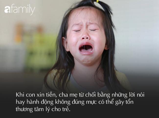 """""""Mẹ ơi, cho con 10 nghìn"""", khi đứa trẻ xin tiền, 3 câu này tốt nhất phụ huynh không nên nói ra kẻo tổn thương tâm hồn - Ảnh 3."""