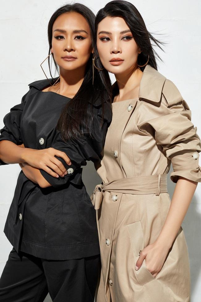 Sau 25 năm rời xa sàn diễn, siêu mẫu Vũ Cẩm Nhung trở lại ngoạn mục với bộ ảnh chung cùng cựu Hoa hậu Trần Bảo Ngọc  - Ảnh 4.