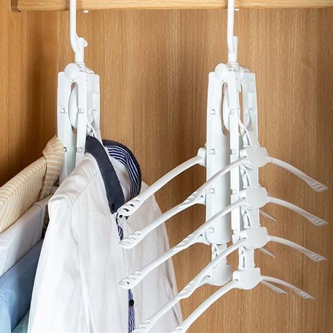 """Tạm biệt các loại dây phơi, móc quần áo truyền thống trong nhà, đây là 5 mẫu thiết kế mới giúp bạn """"x5"""" số lượng, tiết kiệm diện tích và tiền bạc - Ảnh 11."""