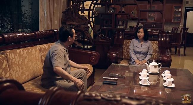 """""""Sinh tử"""" tập 6: Việt Anh sợ xanh mặt khi nghe Chủ tịch Trần Nghĩa (NSND Hoàng Dũng) thông báo sắp ăn cơm tù - Ảnh 6."""