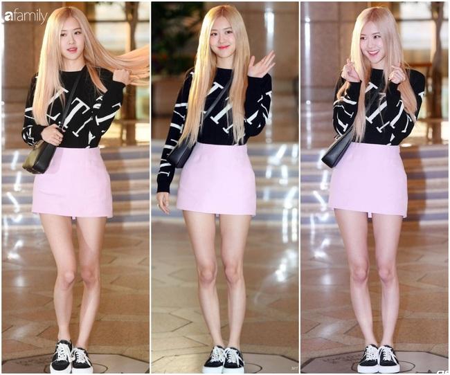 Rosé (Black Pink) diện set đồ gần 250 triệu, phô diện đôi chân cực phẩm như búp bê Barbie - Ảnh 7.