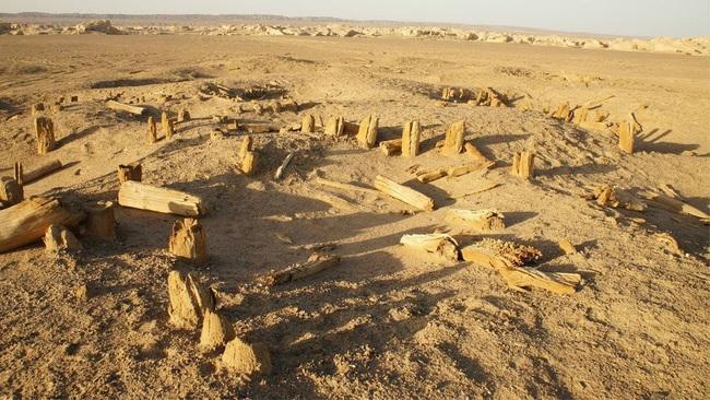 Vương quốc cổ Lâu Lan thần bí giữa sa mạc Trung Quốc - Ảnh 3.