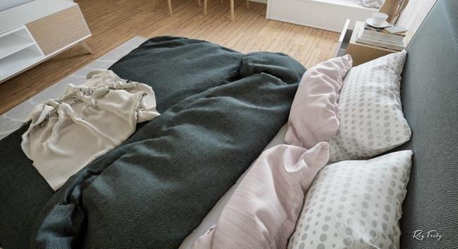 Căn hộ nhỏ sáng tạo với thiết kế đặc biệt biến phòng tắm thành trung tâm - Ảnh 13.
