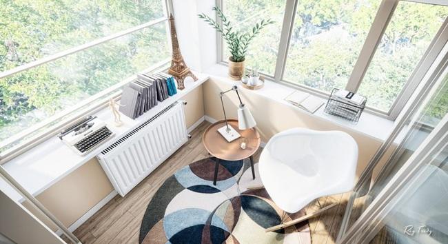 Căn hộ nhỏ sáng tạo với thiết kế đặc biệt biến phòng tắm thành trung tâm - Ảnh 7.