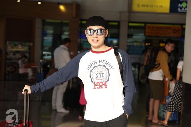 Dàn sao Vbiz đổ bộ sân bay chuẩn bị tới Phú Quốc để dự đám cưới Đông Nhi - Ông Cao Thắng - Ảnh 2.