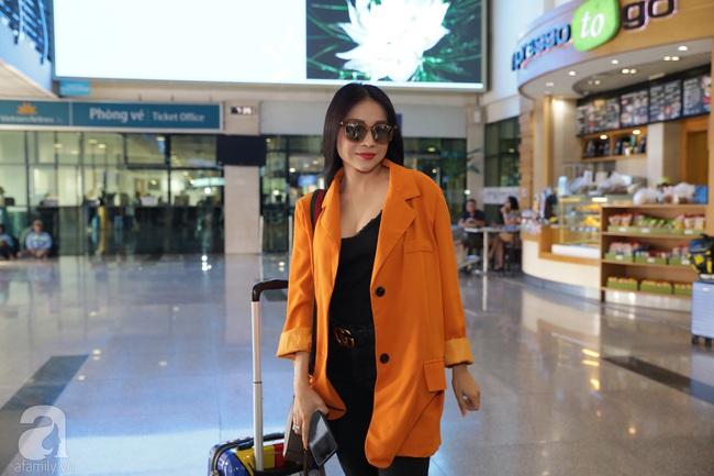 Dàn sao Vbiz đổ bộ sân bay chuẩn bị tới Phú Quốc để dự đám cưới Đông Nhi - Ông Cao Thắng - Ảnh 7.