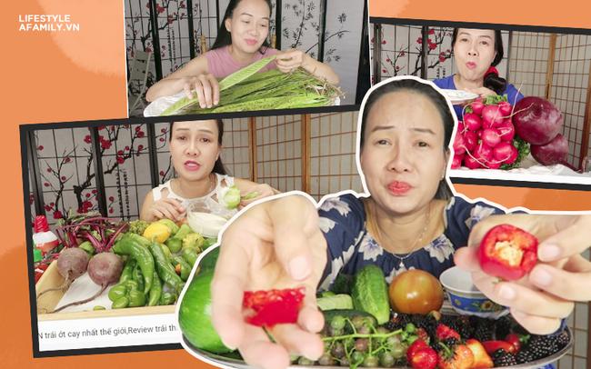 Vinh Nguyễn Thị - vlogger dũng cảm nhất giới Youtube: Sẵn sàng thử các loại đồ ăn thối nhất, chuyên gia ăn ớt thử độ bền của lưỡi - Ảnh 1.