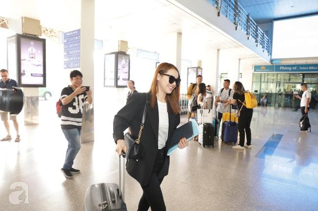Dàn sao Vbiz đổ bộ sân bay chuẩn bị tới Phú Quốc để dự đám cưới Đông Nhi - Ông Cao Thắng - Ảnh 16.