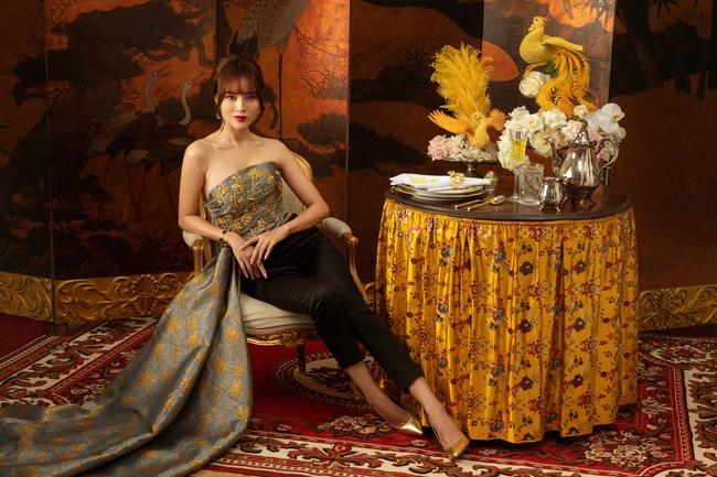 """""""Gái già lắm chiêu 3"""": Ninh Dương Lan Ngọc đẹp mê mẩn, làm dâu nhà siêu giàu của mẹ chồng Lê Khanh  - Ảnh 3."""