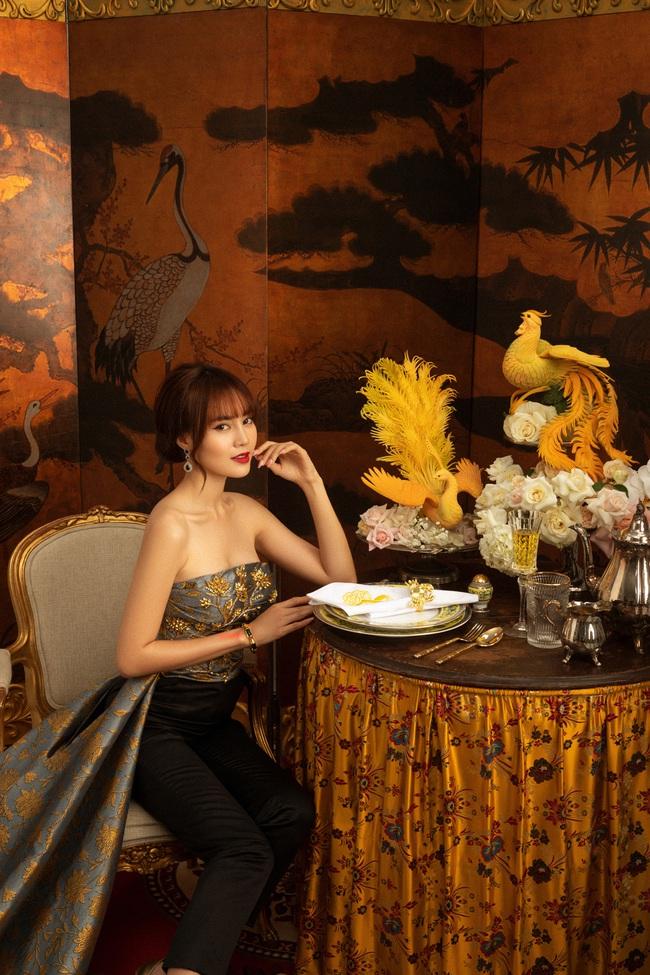 """""""Gái già lắm chiêu 3"""": Ninh Dương Lan Ngọc đẹp mê mẩn, làm dâu nhà siêu giàu của mẹ chồng Lê Khanh  - Ảnh 4."""