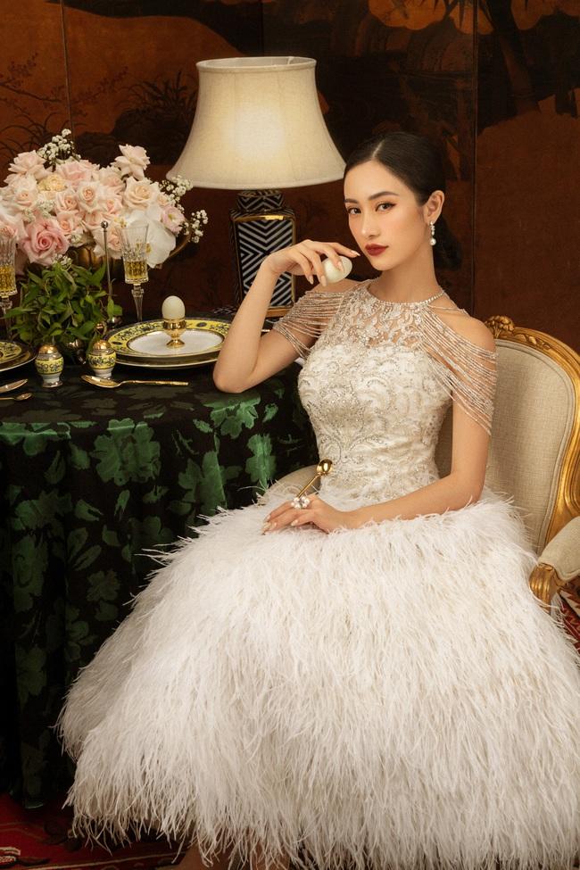 """""""Gái già lắm chiêu 3"""": Ninh Dương Lan Ngọc đẹp mê mẩn, làm dâu nhà siêu giàu của mẹ chồng Lê Khanh  - Ảnh 9."""