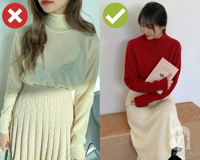 3 lỗi diện áo len nơi công sở: Nhẹ thì dìm dáng kém xinh, nặng thì kém duyên hết sức - Ảnh 3.