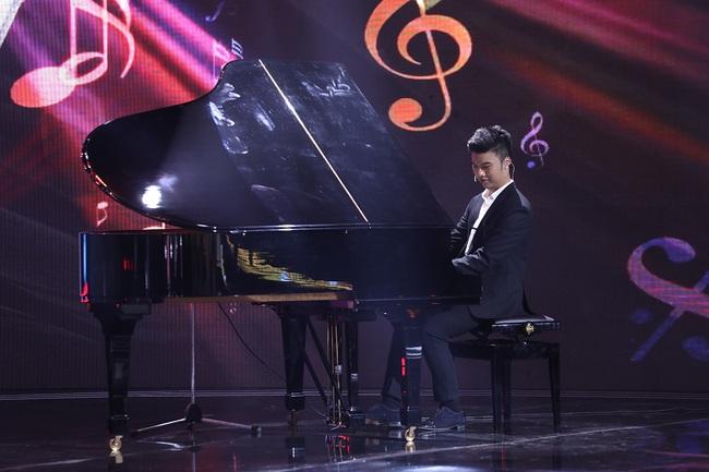 """""""Siêu trí tuệ Việt Nam"""": Vũ Cát Tường gây khó dễ với thử thách dành cho chàng trai nghe nhạc bằng thị giác - Ảnh 3."""