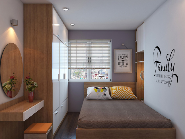 Tư vấn thiết kế căn hộ chung cư diện tích 60m2 với chi phí 100 triệu đồng - Ảnh 13.