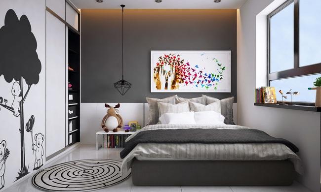 Tư vấn thiết kế căn hộ chung cư diện tích 60m2 với chi phí 100 triệu đồng - Ảnh 14.