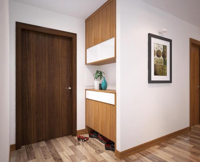 Tư vấn thiết kế căn hộ chung cư diện tích 60m2 với chi phí 100 triệu đồng - Ảnh 7.