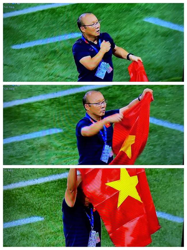 """Muôn vàn biểu cảm đáng giá của thầy Park trong trận chung kết SEA Games 30: Từ """"đanh đá"""" cãi nhau với trọng tài đến lo lắng cho các cầu thủ  - Ảnh 11."""