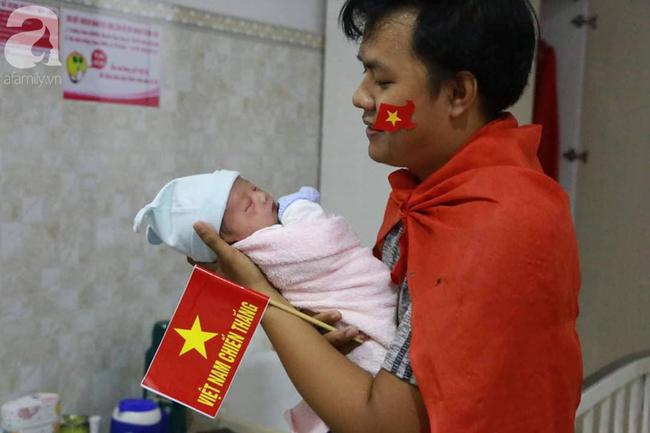 Những em bé chào đời trong giây phút đội tuyển Việt Nam đăng quang chức vô địch SEA Games 30 - Ảnh 4.