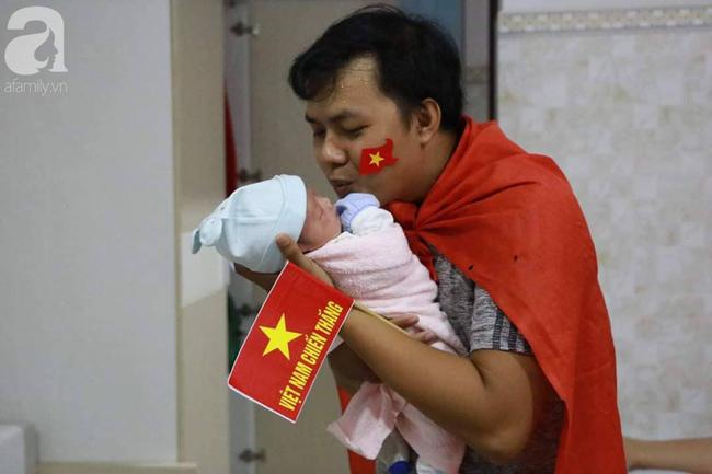 Những em bé chào đời trong giây phút đội tuyển Việt Nam đăng quang chức vô địch SEA Games 30 - Ảnh 5.