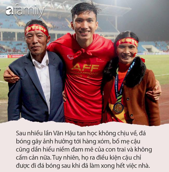 Đoàn Văn Hậu lập cú đúp giúp Việt Nam vô địch SEA Games 30: Từng bị bố đánh vì mê bóng và kỷ niệm bỏ học chơi game nhớ đời - Ảnh 5.