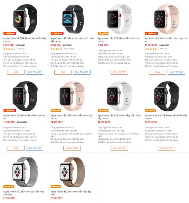 """Thị trường đồ công nghệ xuất hiện vô số sản phẩm đồng hồ Apple Watch """"nhái"""" có giá rẻ giật mình - Ảnh 5."""