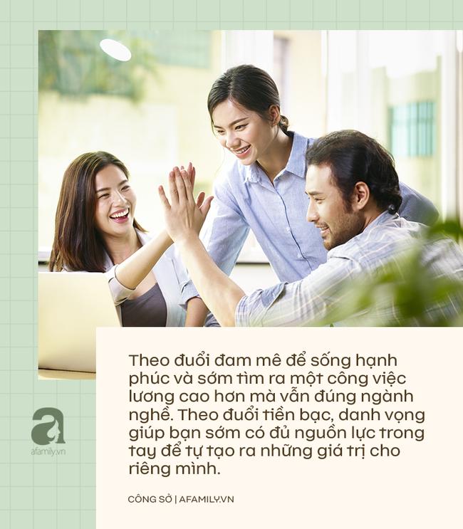 Chọn công việc mang lại danh vọng hay công việc đem đến hạnh phúc? 2 câu hỏi dưới đây sẽ giúp chị em công sở trả lời được ngay! - Ảnh 3.