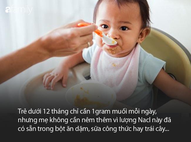 Bác sĩ giải thích vì sao không nên nêm 1 hạt muối nào khi chế biến đồ ăn dặm cho con - Ảnh 5.