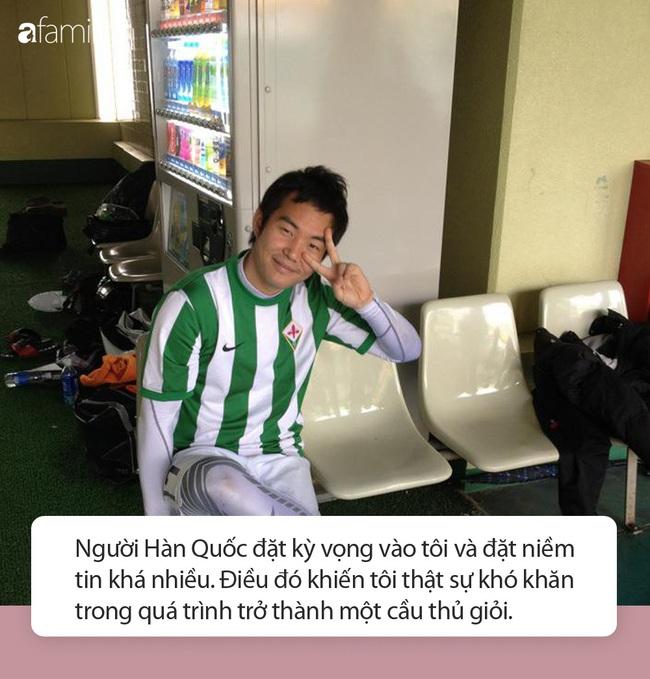 Con trai duy nhất của thầy Park Hang Seo: Từ bỏ bóng đá vì áp lực, nói 1 câu đặc biệt dẫn đến thành công hiện tại của bố  - Ảnh 2.