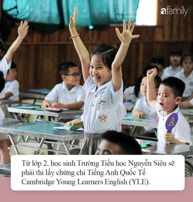 Yêu cầu trình độ tiếng Anh đầu vào lớp 1 của Trường Tiểu học Nguyễn Siêu: Bố mẹ xem xét để chuẩn bị tốt cho con - Ảnh 6.