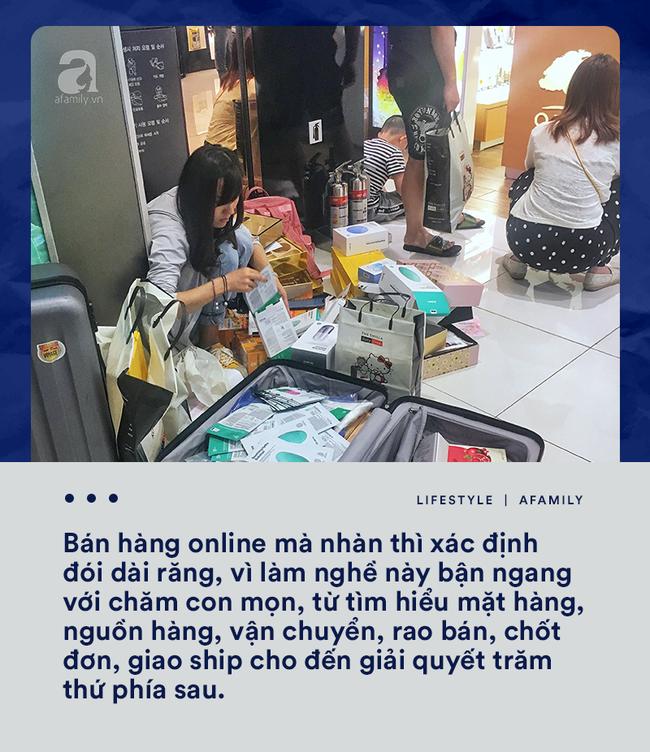Bán hàng online và muôn nẻo tâm tư thầm kín giờ mới dám kể của hội bỉm sữa liều mình đi buôn - Ảnh 2.