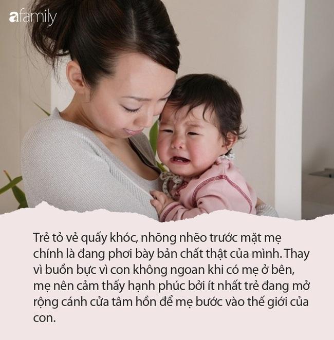 Vì sao đứa trẻ nào cũng đang ngoan như thiên thần nhưng hễ thấy mẹ là lập tức nhõng nhẽo - Ảnh 3.