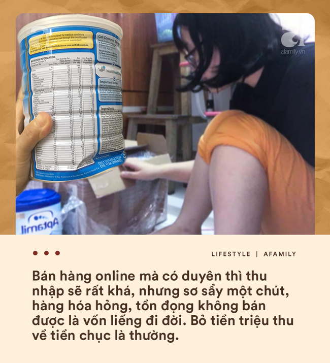 Bán hàng online và muôn nẻo tâm tư thầm kín giờ mới dám kể của hội bỉm sữa liều mình đi buôn - Ảnh 3.