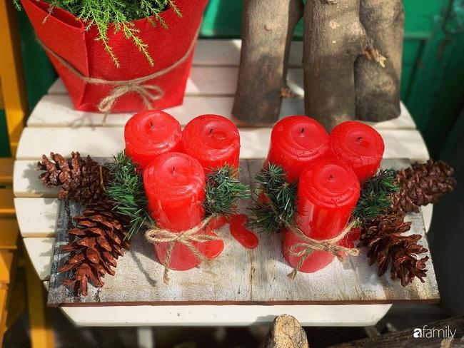 Sân thượng sắc màu rực rỡ đẹp cuốn hút đón Noel của mẹ đảm ở Nha Trang - Ảnh 13.