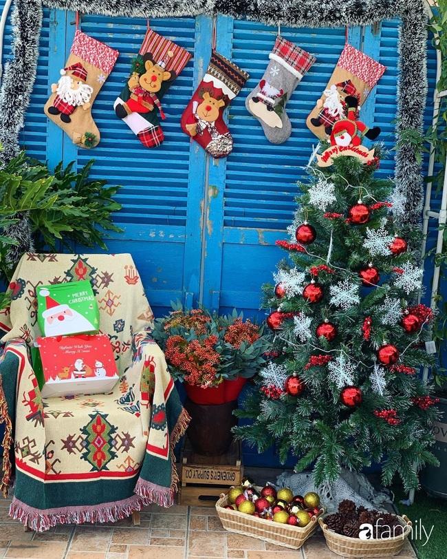 Sân thượng sắc màu rực rỡ đẹp cuốn hút đón Noel của mẹ đảm ở Nha Trang - Ảnh 11.