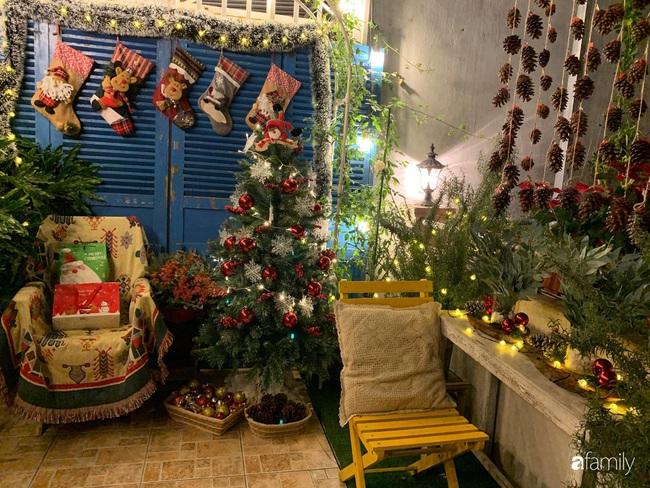 Sân thượng sắc màu rực rỡ đẹp cuốn hút đón Noel của mẹ đảm ở Nha Trang - Ảnh 4.