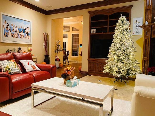 Biệt thự khủng lung linh mùa Giáng sinh của gia đình ca sĩ Hồng Ngọc - Ảnh 8.