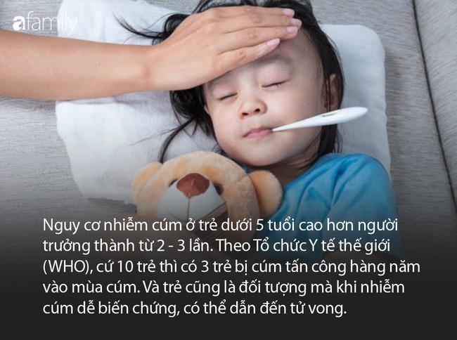 Dịch cúm đang vào đợt cao điểm, có 1 cách phòng ngừa đơn giản mà nhiều bố mẹ quên làm cho con - Ảnh 1.