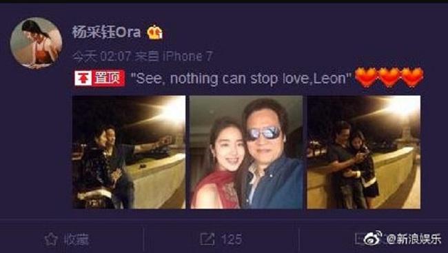 Rộ tin cha nuôi Lưu Diệc Phi đã kết hôn với tình trẻ kém 30 tuổi - Ảnh 2.