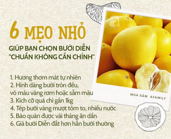 Cùng nghe người bán bưởi Diễn 13 năm kinh nghiệm mách 6 mẹo nhỏ giúp bà nội trợ Việt chọn bưởi Diễn ăn Tết 10 quả thơm ngọt như 10 - Ảnh 1.