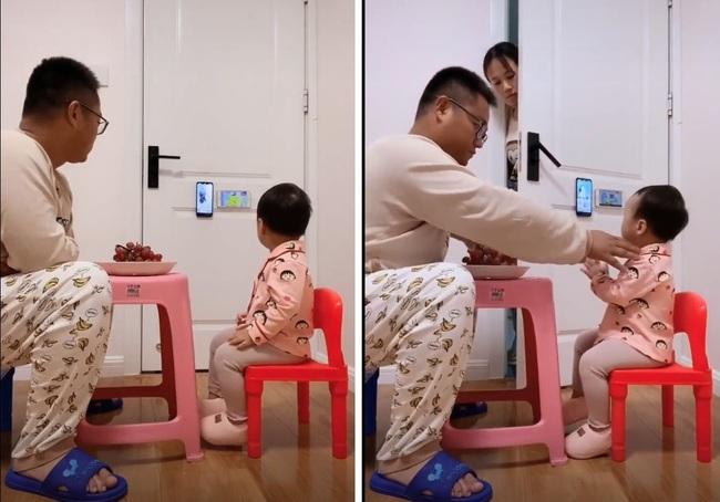 """Pha """"thông đồng"""" đỉnh cao của năm: Bố và con gái lén lút xem điện thoại, mẹ rình bao lần vẫn không thể bắt quả tang - Ảnh 3."""