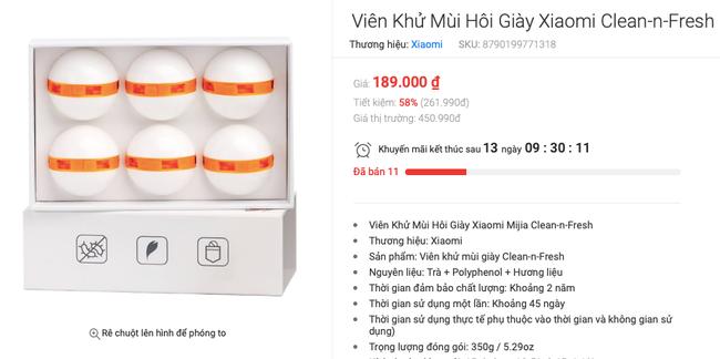 """Ý tưởng quà Giáng sinh cho ông chồng """"thôi chấn"""": Viên khử mùi hôi giày Xiaomi hiệu quả lại đẹp nền nã - Ảnh 3."""