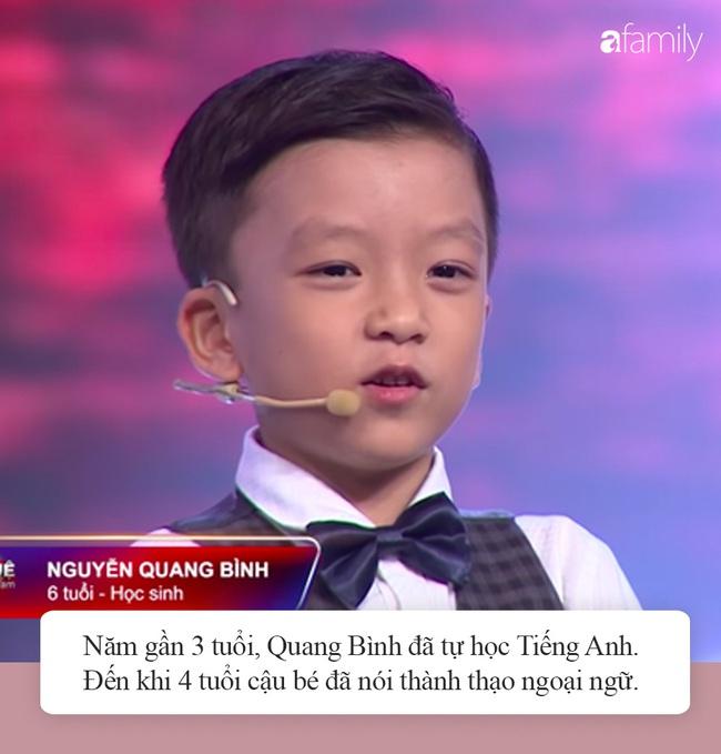 """Quang Bình """"Siêu trí tuệ Việt Nam"""": Khiến Trấn Thành cúi đầu vì trí nhớ siêu phàm, tiết lộ bí quyết thành thạo Tiếng Anh từ năm 4 tuổi  - Ảnh 4."""