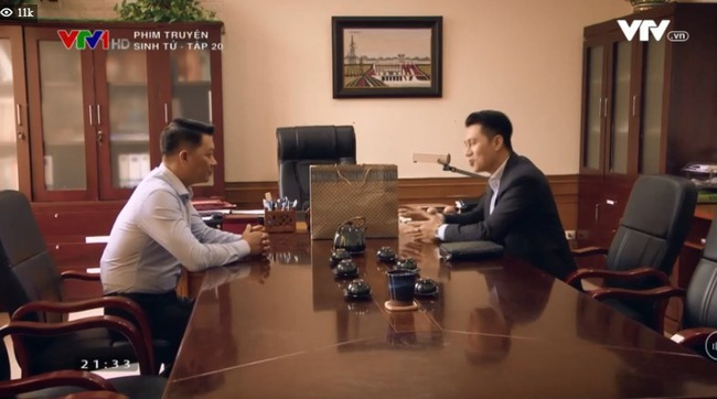 """""""Sinh tử"""" tập 20: Vũ (Việt Anh) lộ bản chất cáo già, """"bắt tay"""" cùng Chí Nhân lôi kéo Tân giám đốc nhập hội nhóm lợi ích - Ảnh 5."""