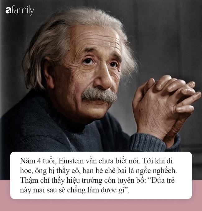 Nếu con nghịch ngợm, kém cỏi hay lười biếng, đừng vội tuyệt vọng bởi chính Albert Einstein và Steve Jobs cũng từng như thế - Ảnh 4.